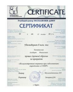 Документы на имя Хамидуллин Альберт Фанизович