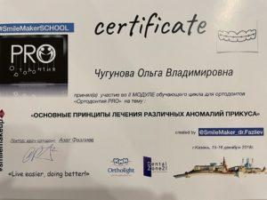 Документы на имя Чугунова Ольга Владимировна